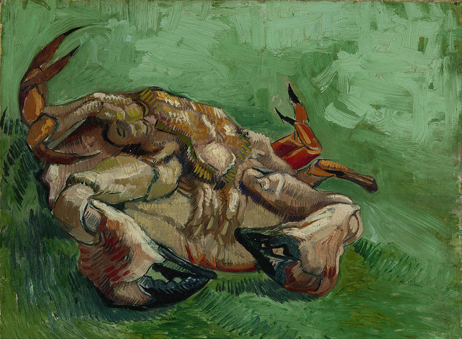 Painting Painting - A Crab On Its Back by Vincent van Gogh
