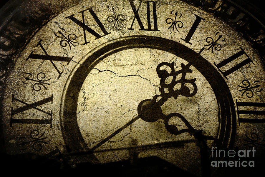 Time Photograph - A Crack In Time by Sharon Coty