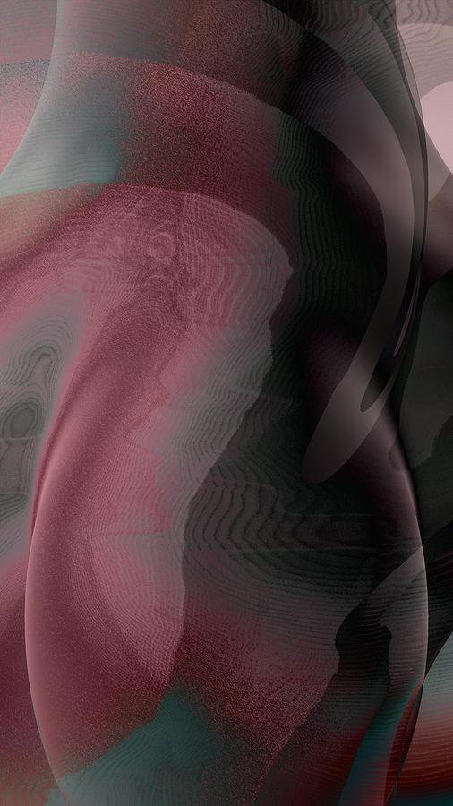 Abstract Digital Art - A Craft At Landing by James Barnes