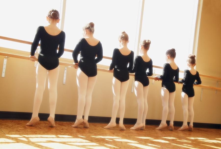 Group Photograph - A Dance Class by Don Hammond