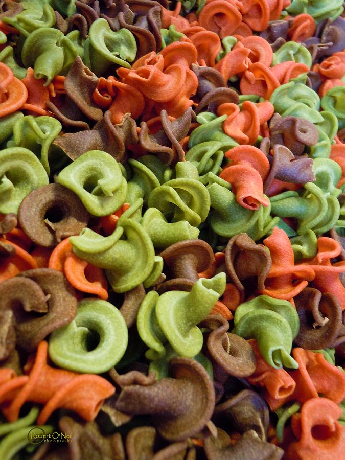 Pasta Photograph - A Day At The Market #21 by Robert ONeil