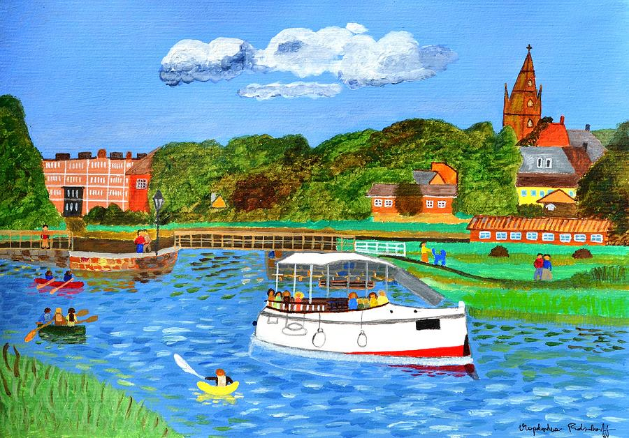 A day on the river in Exeter by Magdalena Frohnsdorff