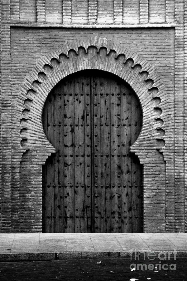 Door Photograph - A Door To Glory by Syed Aqueel