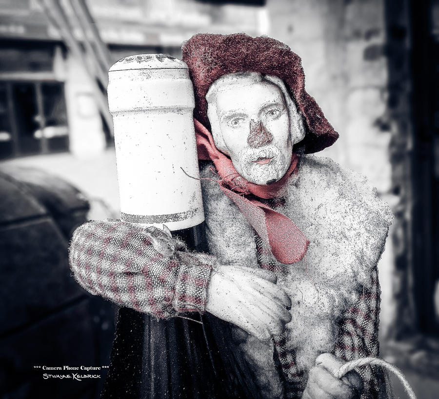 Mobile Phone Photograph - A drunk puppet life by Stwayne Keubrick