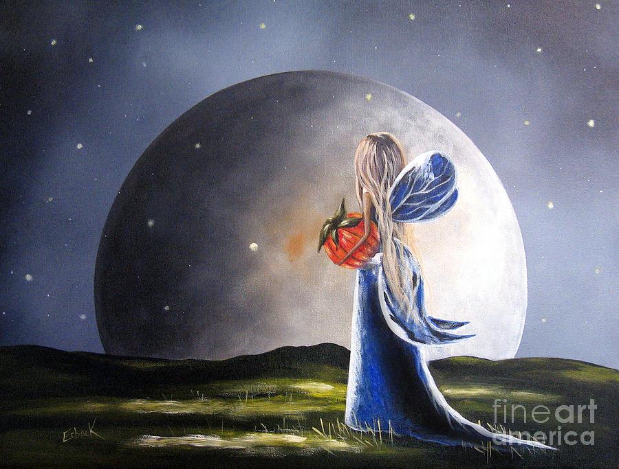 Fairy Painting - A Fairy Tale By Shawna Erback by Shawna Erback