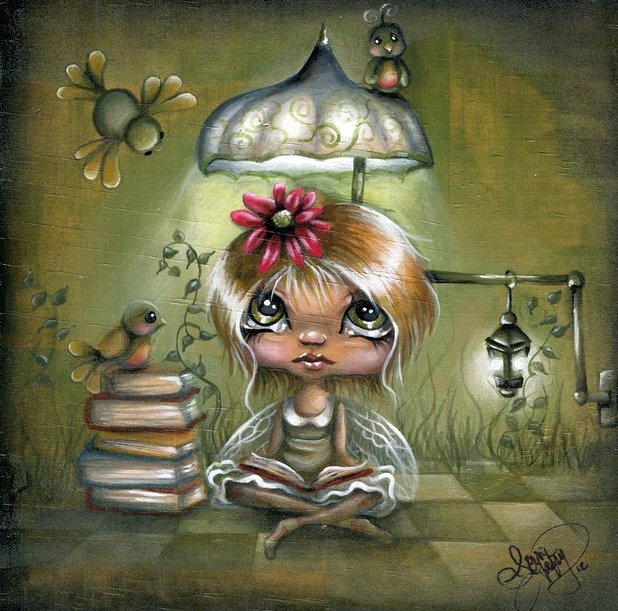 Whimsical Painting - A Fairyland Novel by Robin Sample