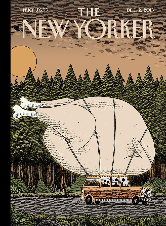 Turkey Day Painting by Tom Gauld