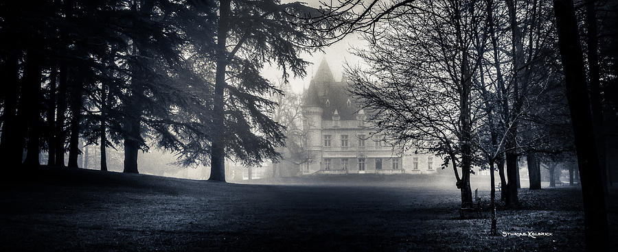 Black And White Photograph - A famous French Castle by Stwayne Keubrick