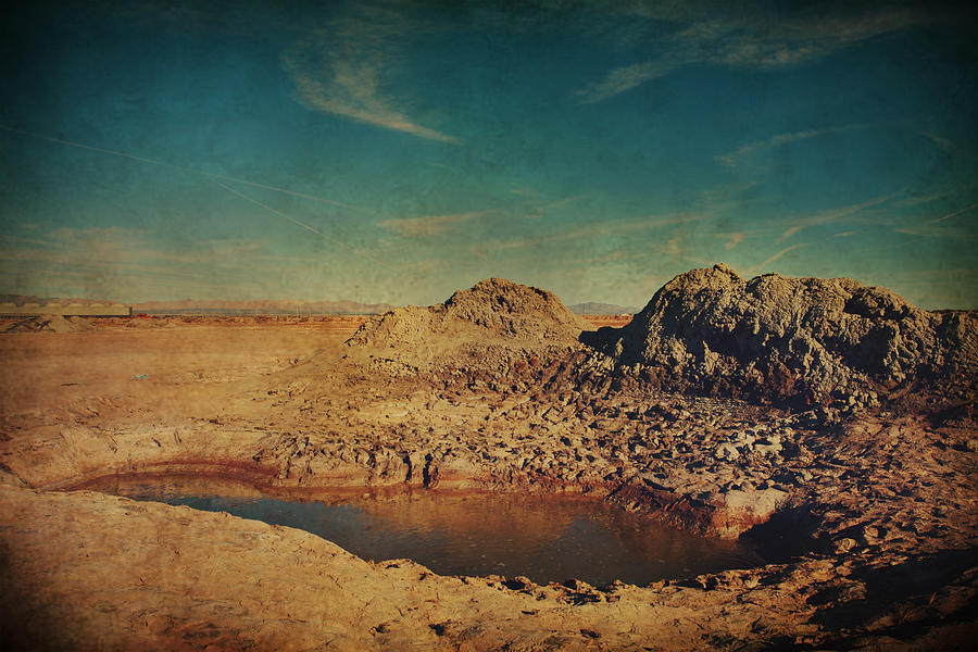 Mud Pot Photograph - A Far Off Place by Laurie Search