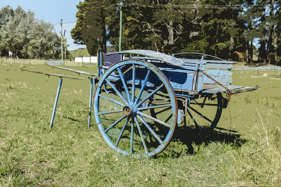 Farm Photograph - A Farm Relic From The Past by Gary Cowling