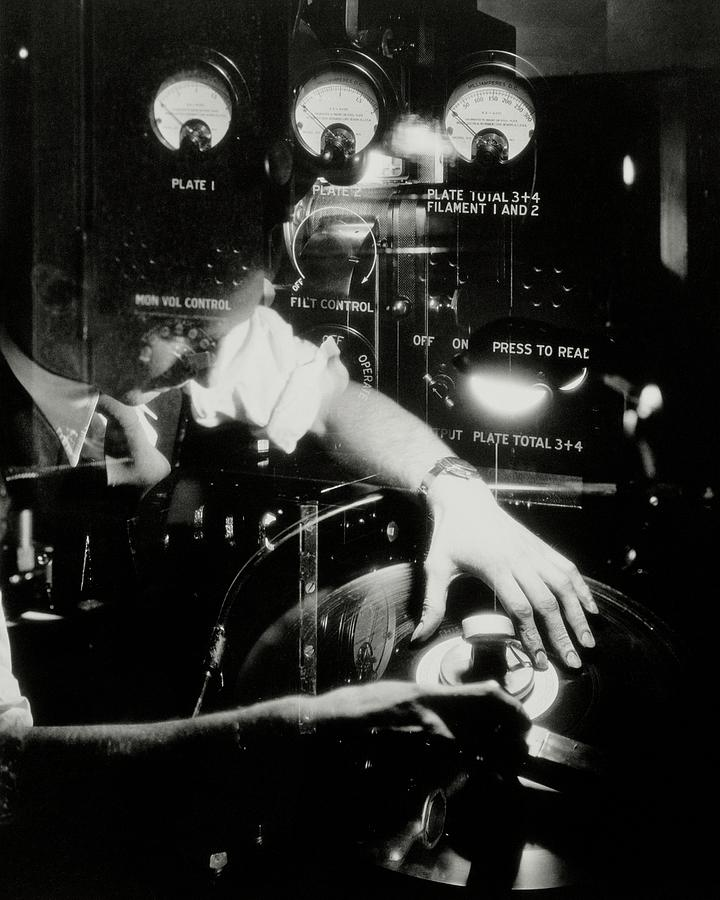 A Film Projectionist Photograph by Irving Browning