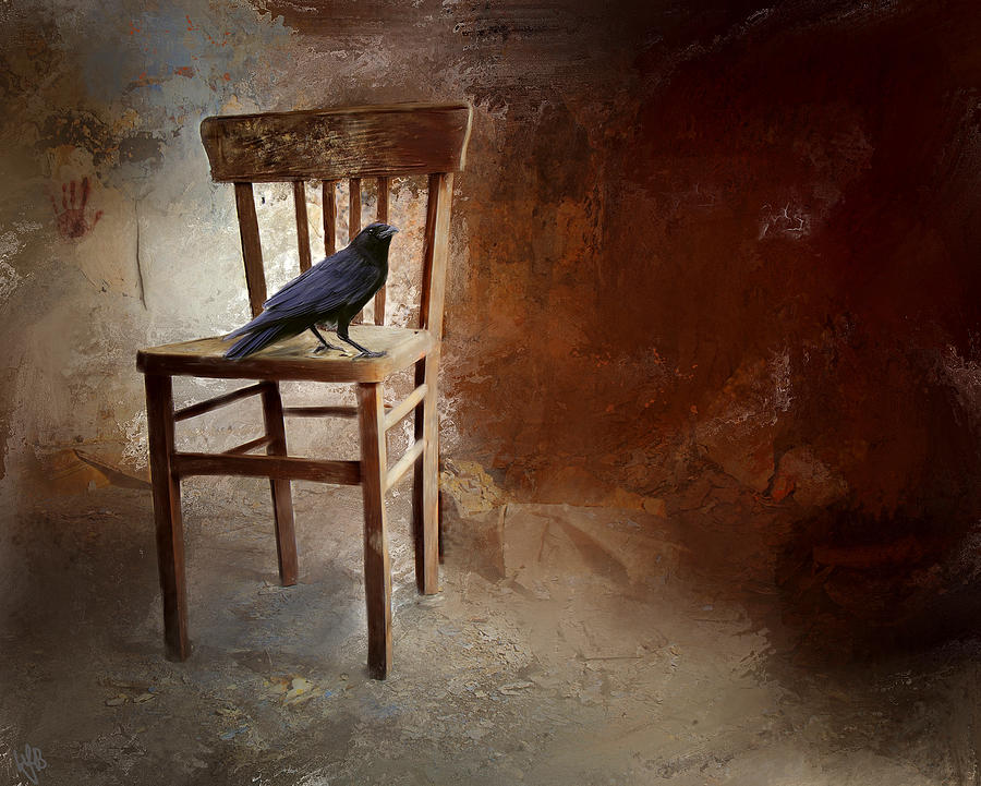 Bird Digital Art - A Forgotten Place by Hazel Billingsley
