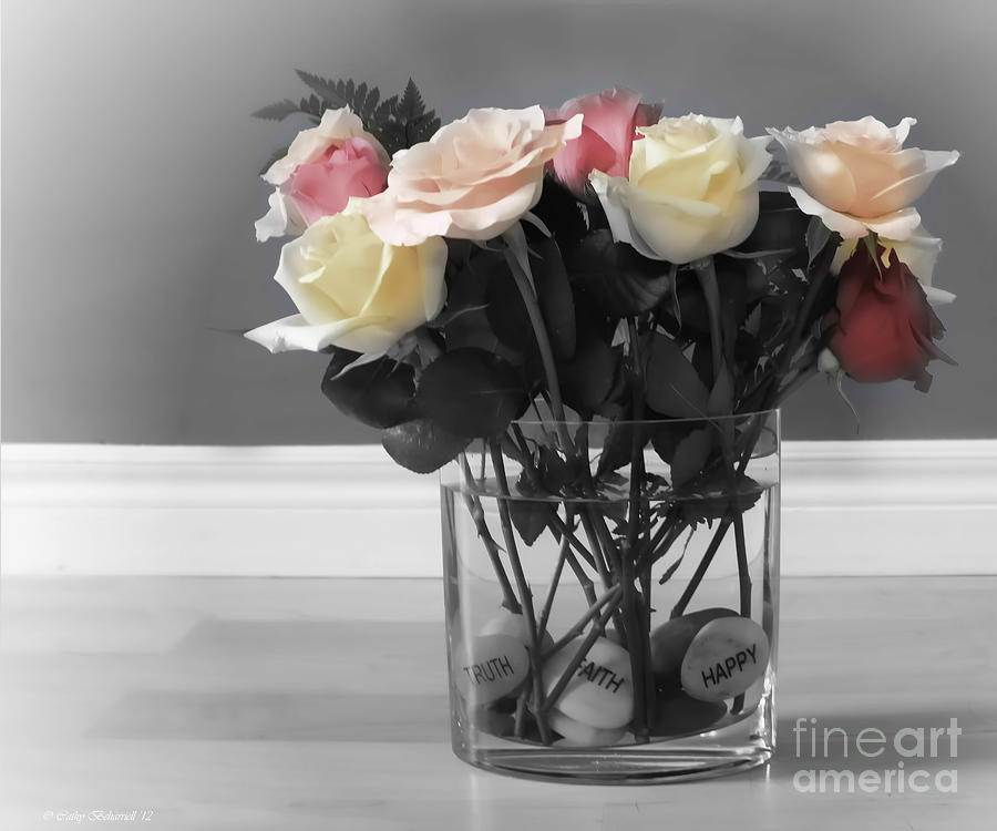 Rose Photograph - A Foundation Of Love by Cathy Beharriell