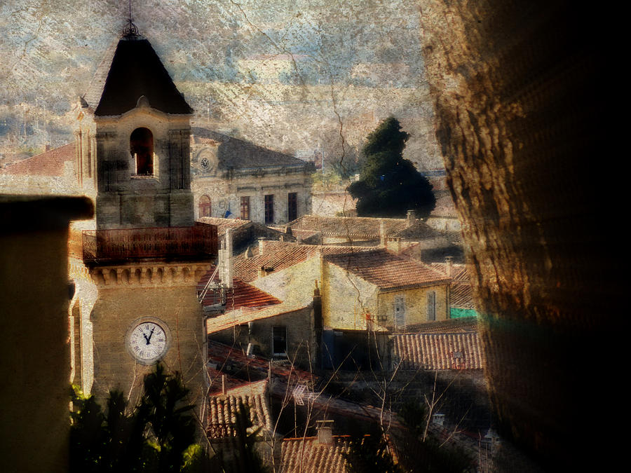Landscape Photograph - A French Village by Tina Concetta Marzocca