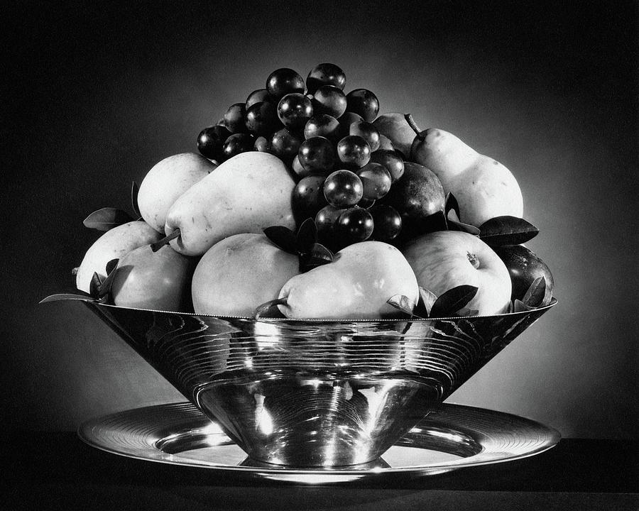 A Fruit Bowl Photograph by Peter Nyholm