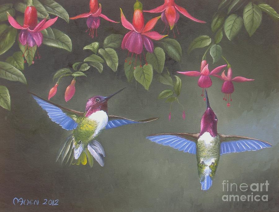 A Fuchsia Moment by Michael Allen