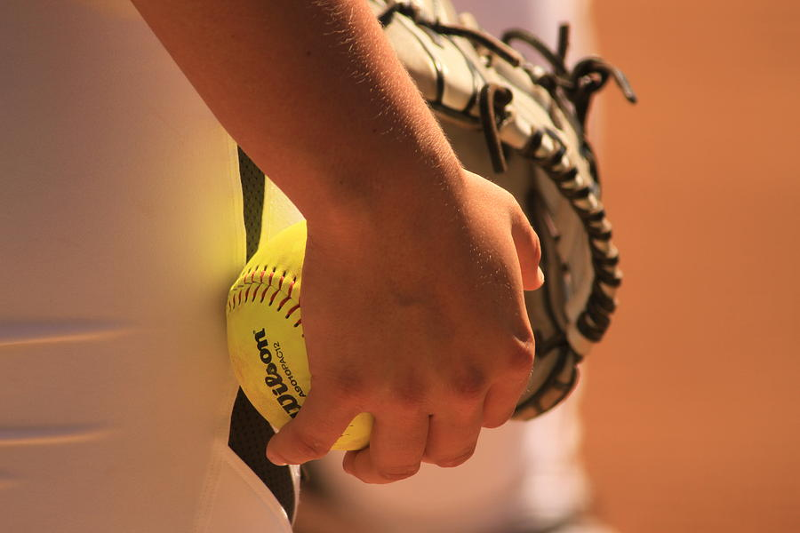 Pitcher Photograph - A Game Of Nuance by Laddie Halupa