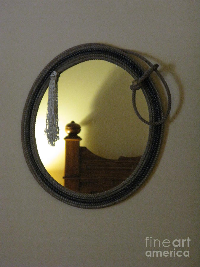 Cowboy Photograph - A Ghost Of The Cowboy by Ausra Huntington nee Paulauskaite