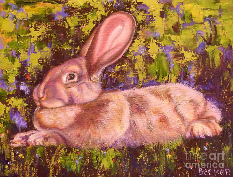 A Giant Continental Rabbit by Susan A Becker
