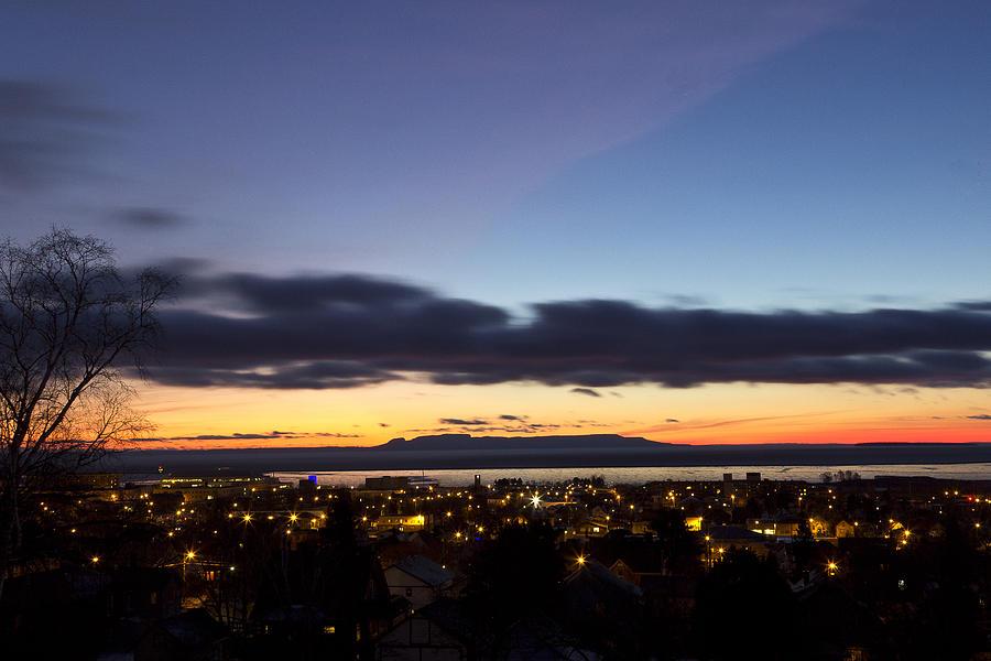 Sunrise Photograph - A Giant Sunrise by Linda Ryma