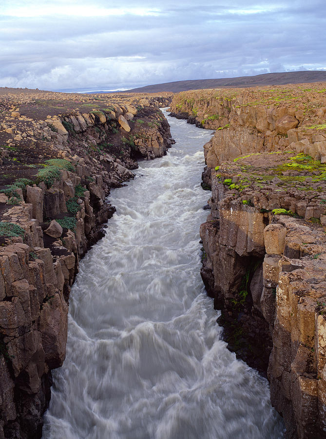 River Photograph - A Glacier River In Iceland by Birgir Freyr Birgisson