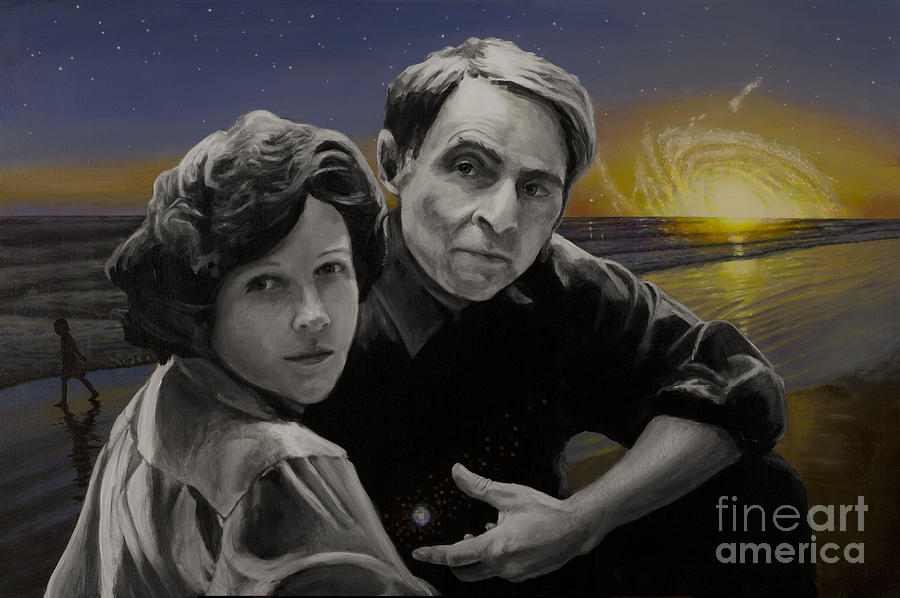 Carl Sagan Painting - A Glorious Dawn by Simon Kregar