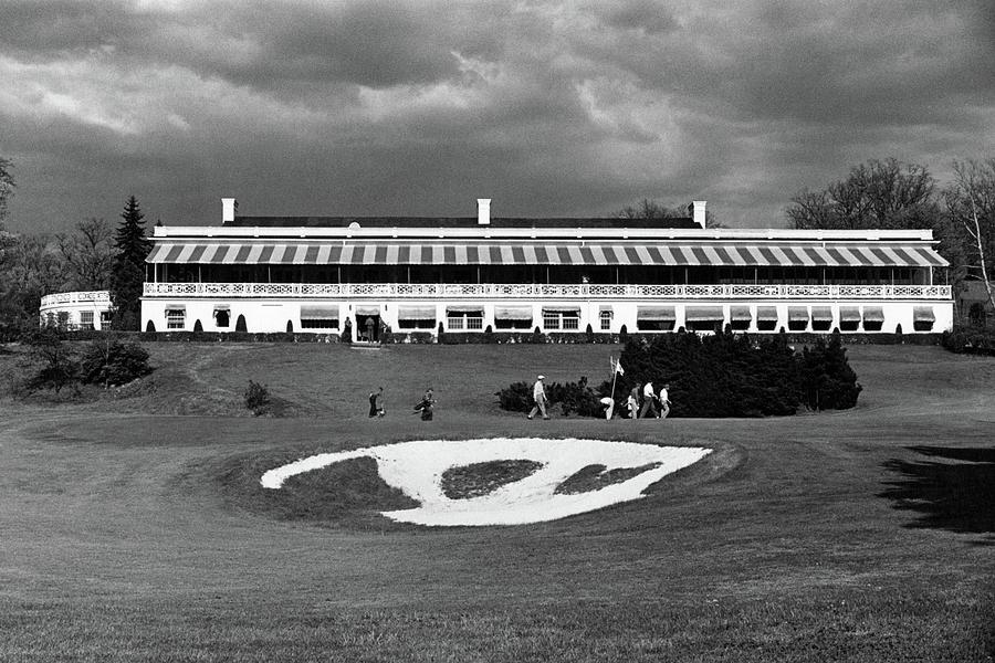 A Golf Course In West Virginia Photograph by Constantin Joffe
