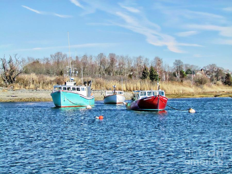 Digital Photography Photograph - A Good Day To Fish by Roxanne Marshal