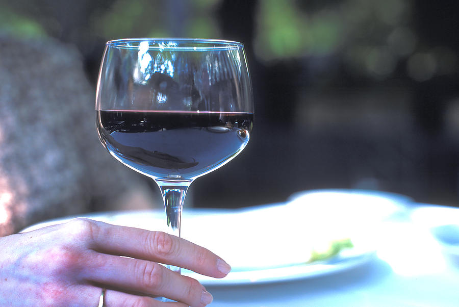 A  Good Red Wine Photograph