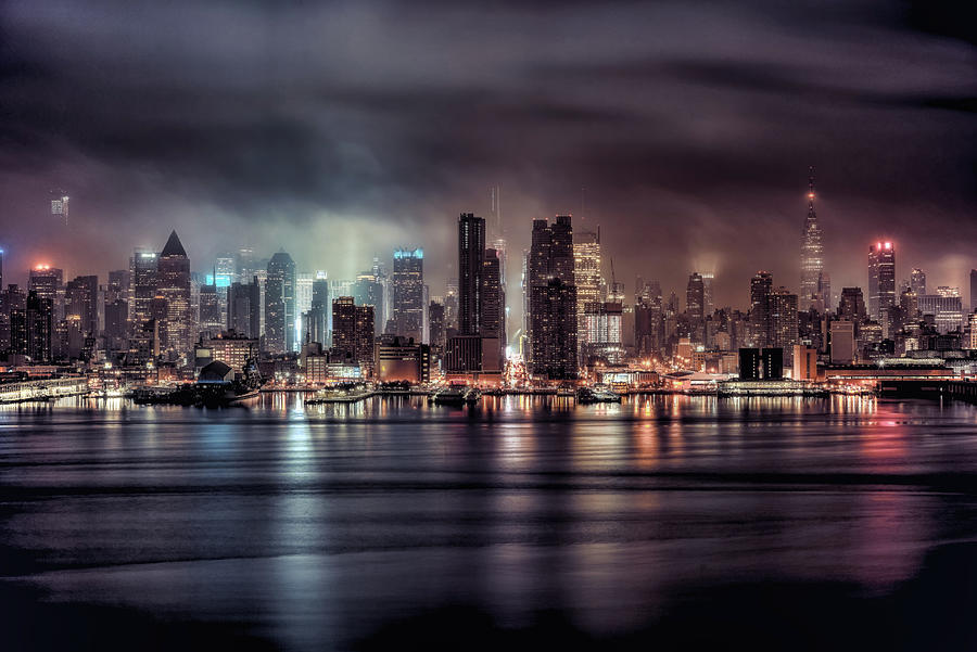 A Gotham Night Photograph by Photography By Steve Kelley Aka Mudpig