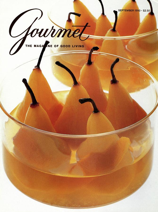 A Gourmet Cover Of Baked Pears Photograph by Romulo Yanes