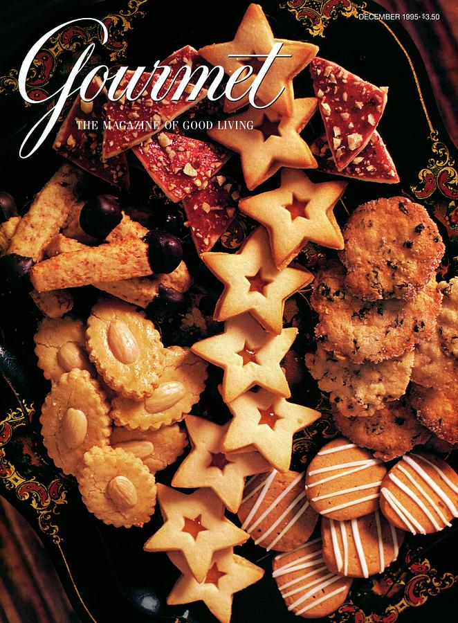 A Gourmet Cover Of Butter Cookies Photograph by Romulo Yanes