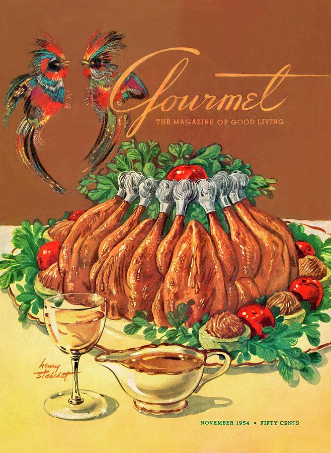 A Gourmet Cover Of Chicken Photograph by Henry Stahlhut