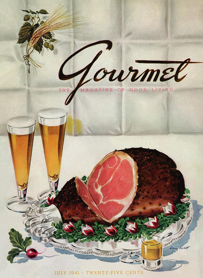 A Gourmet Cover Of Ham Photograph by Henry Stahlhut