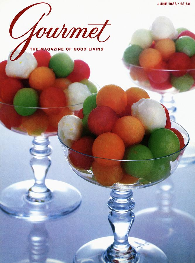 A Gourmet Cover Of Melon Balls Photograph by Romulo Yanes