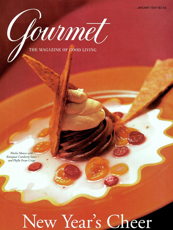 A Gourmet Cover Of Moch Mousse Photograph by Romulo Yanes