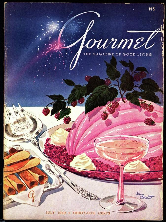 A Gourmet Cover Of Mousse Photograph by Henry Stahlhut