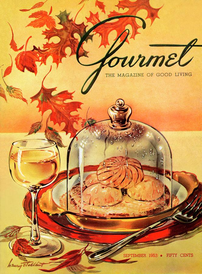 A Gourmet Cover Of Mushrooms On Toast Photograph by Henry Stahlhut