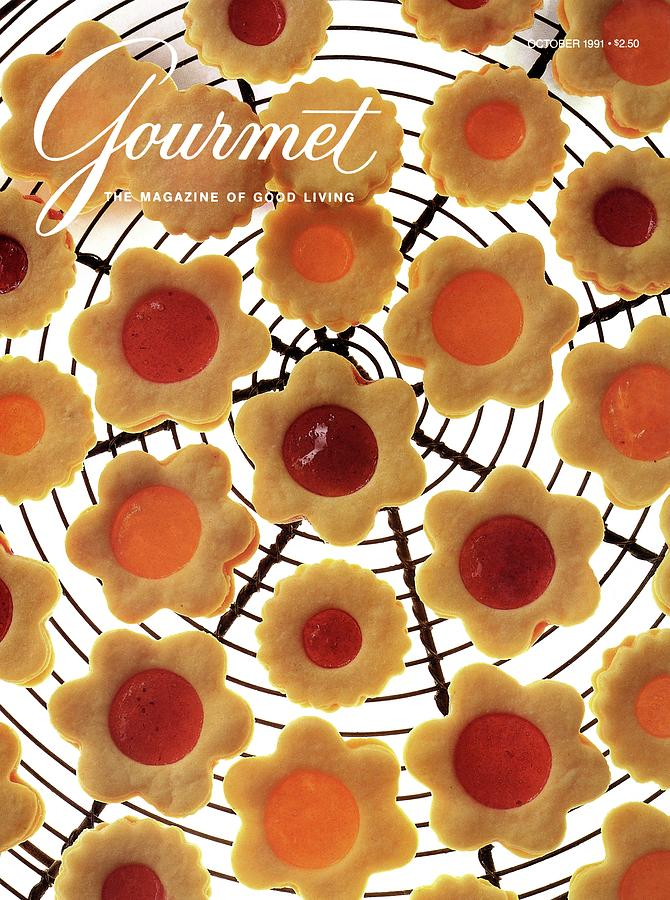 A Gourmet Cover Of Sunny Savaroffs Cookies Photograph by Romulo Yanes