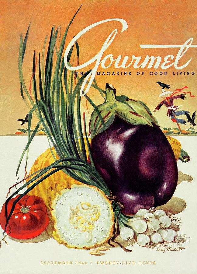 A Gourmet Cover Of Vegetables Photograph by Henry Stahlhut