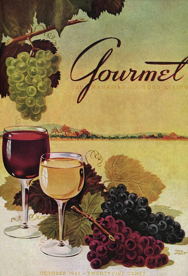 A Gourmet Cover Of Wine Photograph by Henry Stahlhut