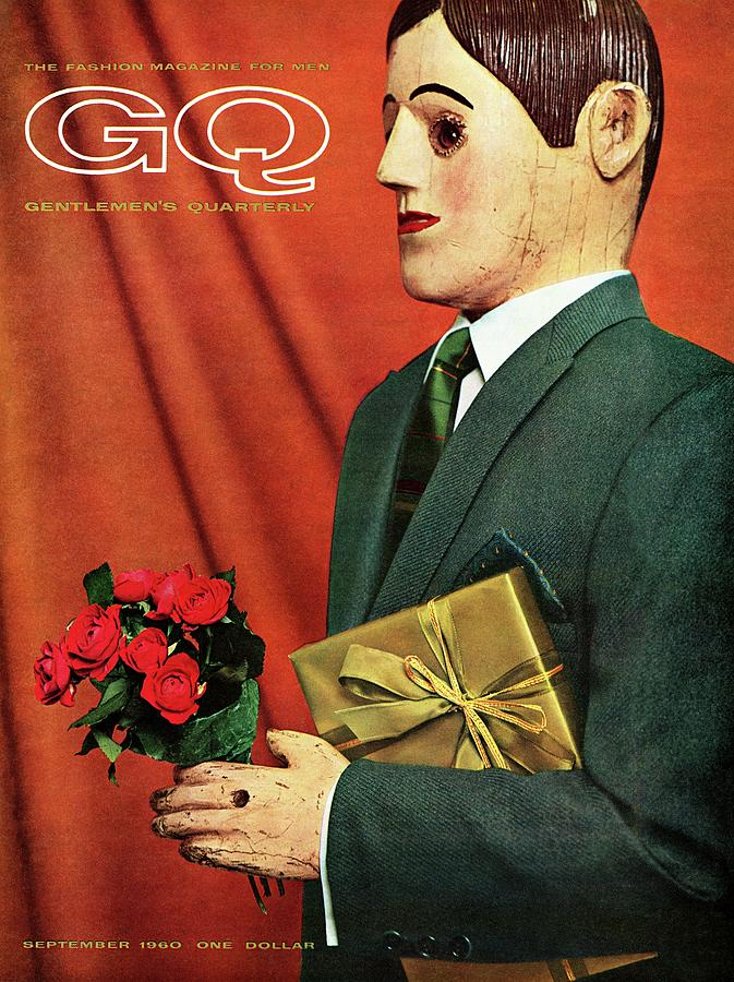 A Gq Cover Of A Hammonton Park Suit Photograph by Manuel Denner
