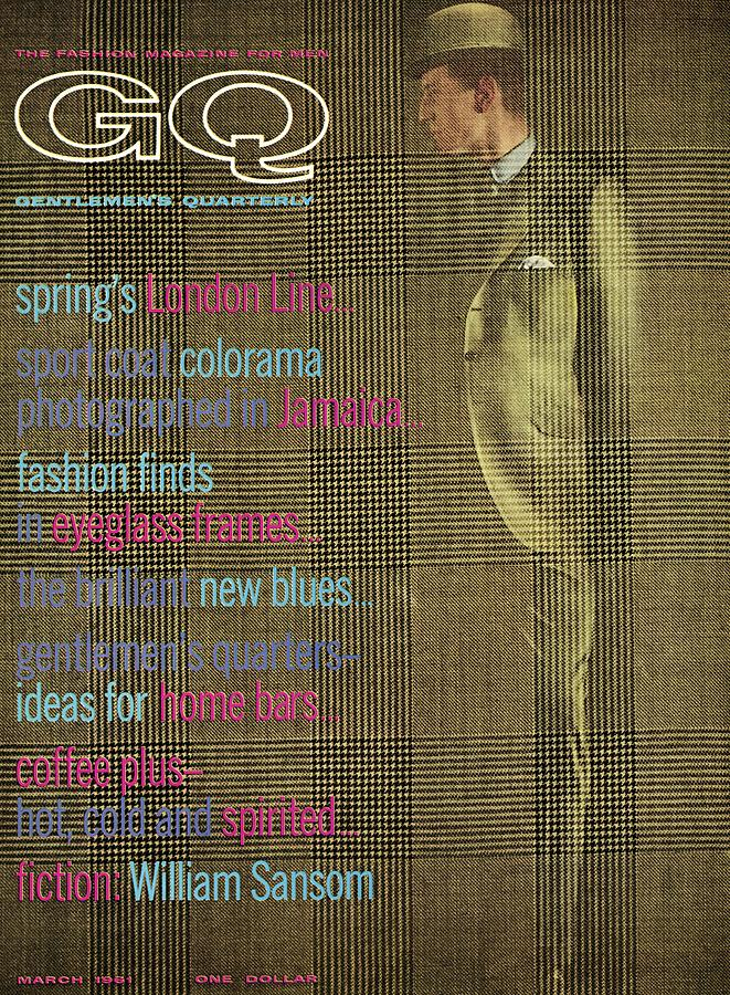 A Gq Cover Of Glen Plaid Photograph by Henry Haberman
