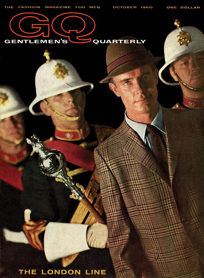 A Gq Cover Of Guards Photograph by Chadwick Hall