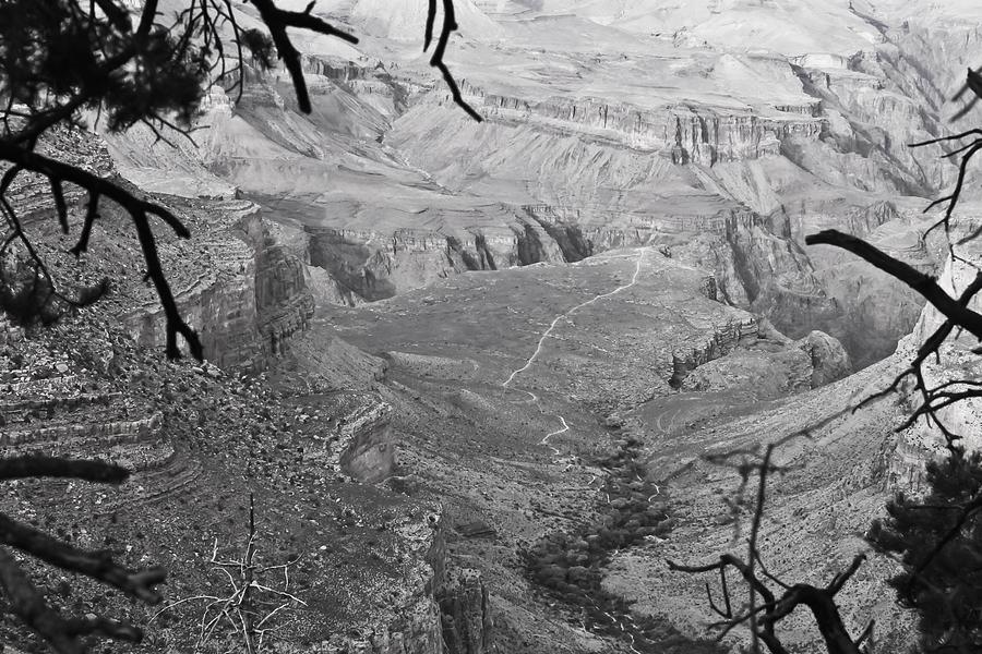 Grand Canyon Photograph - A Grand View by Richie Stewart