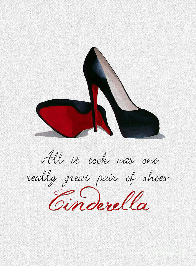 Christian Louboutin Mixed Media - A Great Pair Of Shoes by My Inspiration