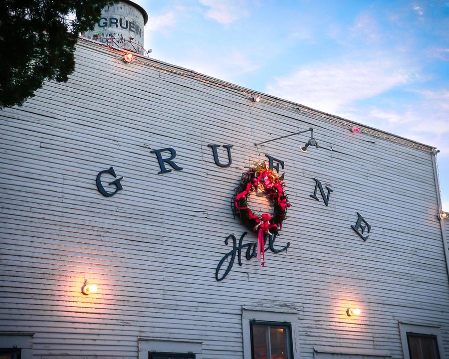 Gruene Photograph - A Gruene Christmas by Debbie Karnes