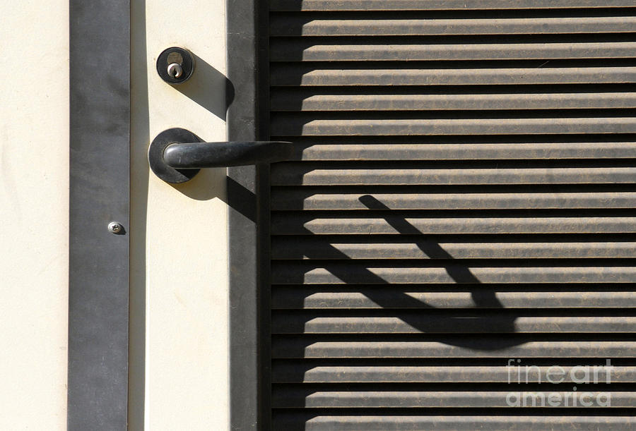 Abstract Photograph - A Handle On It by Dan Holm