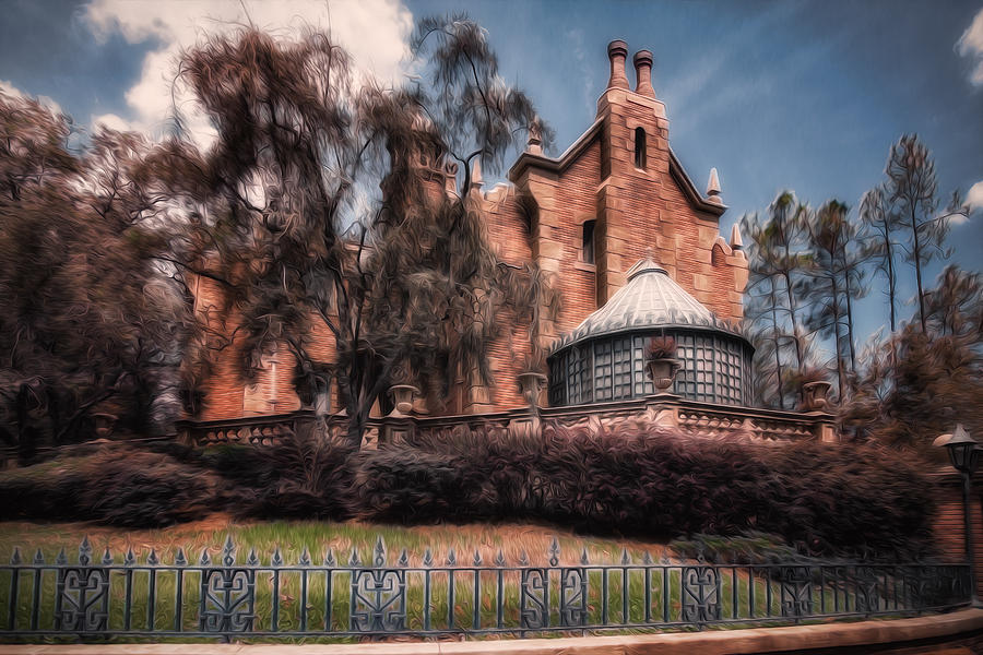 Haunted House Photograph - A Haunting House by Joshua Minso