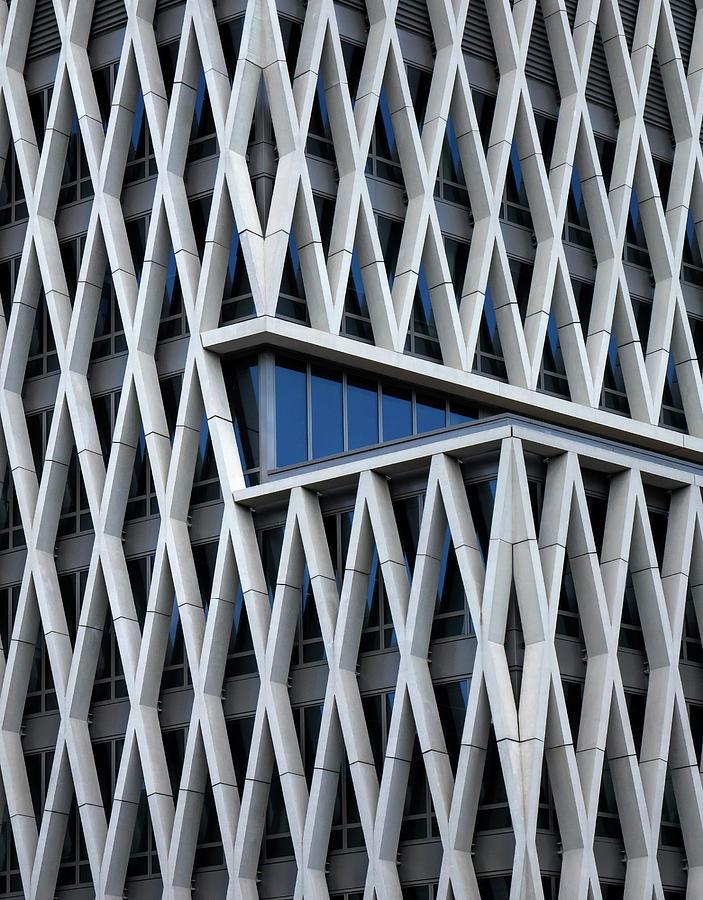 Architecture Photograph - A Hint Of Blue by Jef Van Den